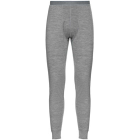 Odlo SUW Natural 100% Merino Warm Bottom Pants Men grey melange/grey melange